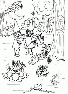 Stijns stem - feest in het bos