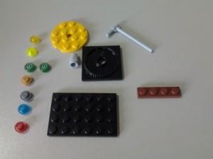 lego minirad onderdelen
