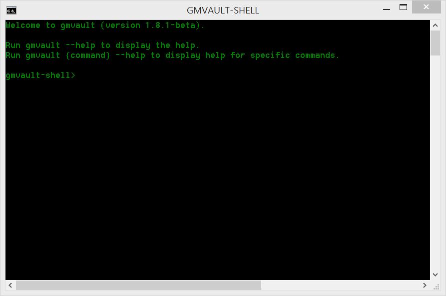 gmvault_shell