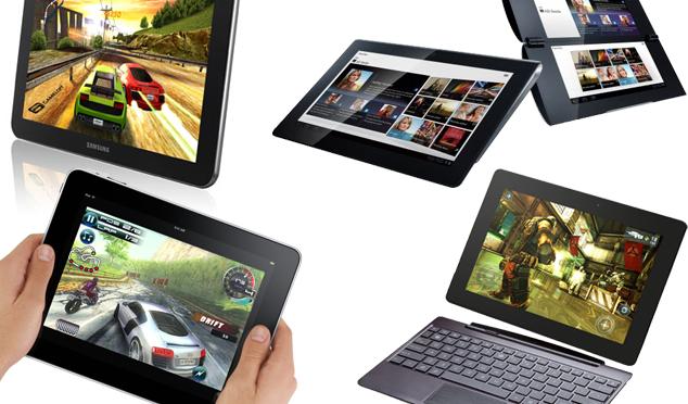 Kinderen leren omgaan met multimedia: tablets