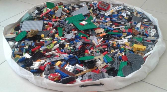 Swoop: eindelijk gemakkelijk lego opruimen