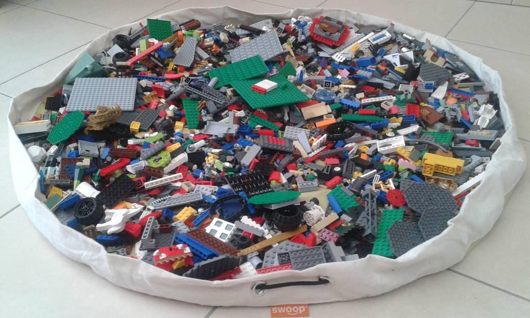 Swoop eindelijk gemakkelijk lego opruimen zenspiratie for Tips opruimen