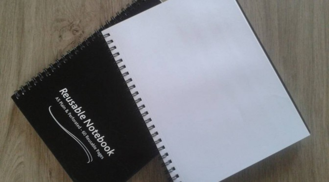 Een herbruikbaar schrift voor al je notities?