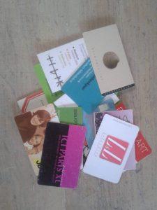 Meer plaats in je portemonnee met minder klantenkaarten