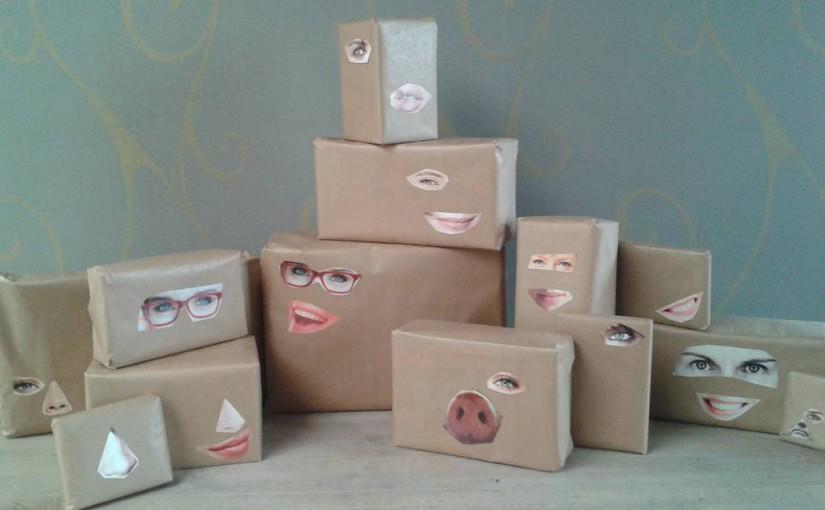Verras iedereen met cadeautjes met een gezicht