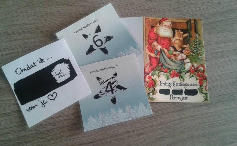 New Geef eens een zelfgemaakte kraskaart/kraslot! - Zenspiratie &EJ09