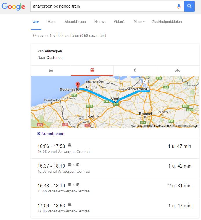 google_trein