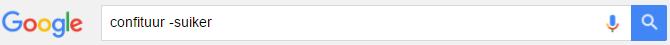 google_uitsluiten