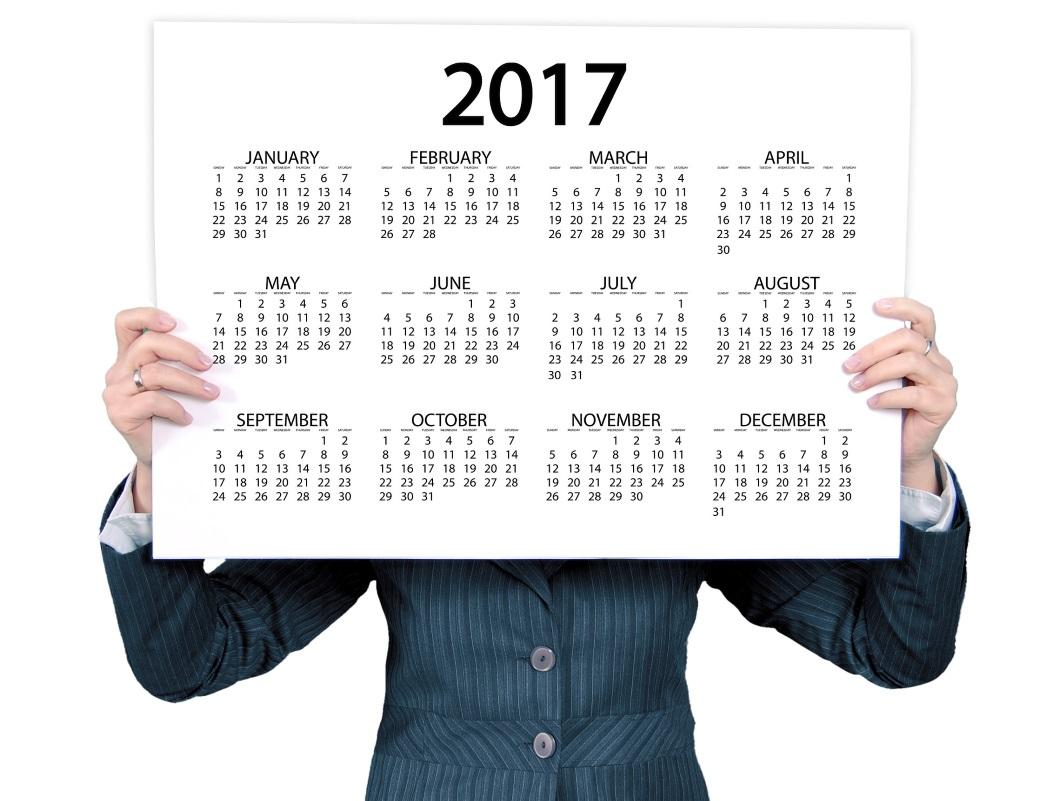 Plan je vakantiedagen voor 2017 optimaal