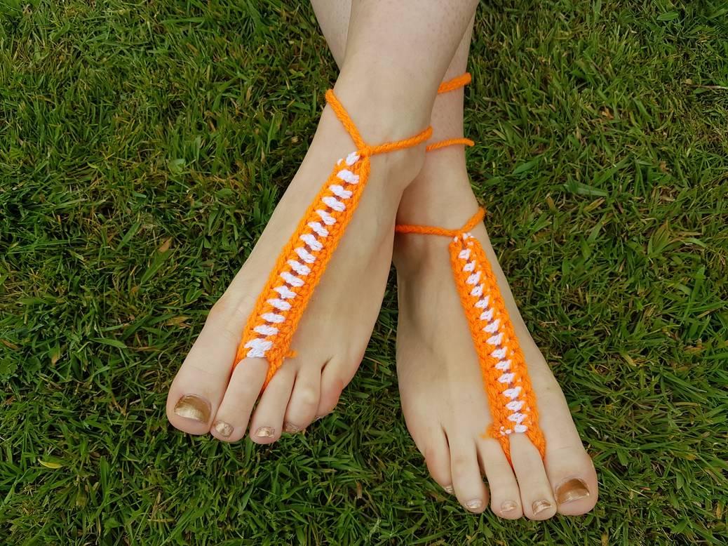 DIY een voetjuweel haken