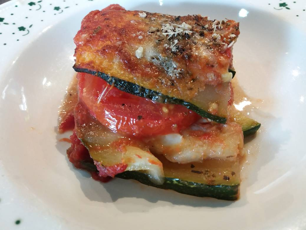 Vegetarisch koken met groenten uit de tuin: zucchine parmigiana