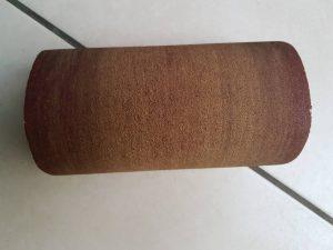 schuurpapier met grove korrel