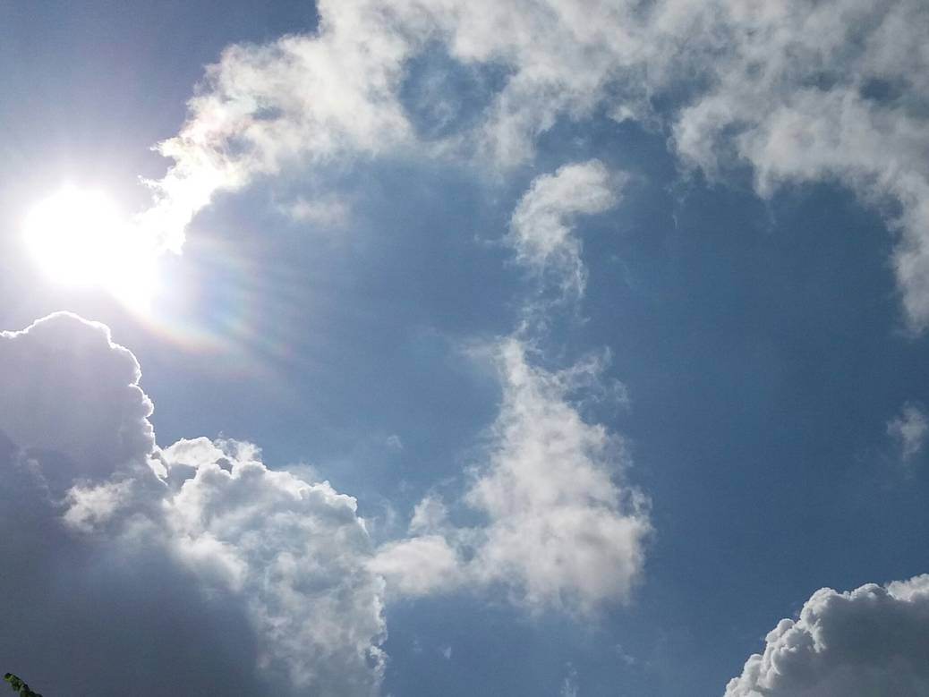 In de wolken #365project #clouds #creativity