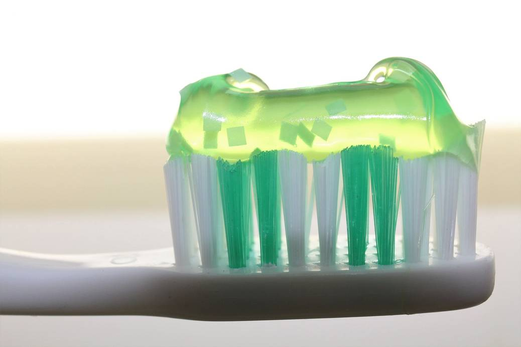 De truc met de tandpasta!