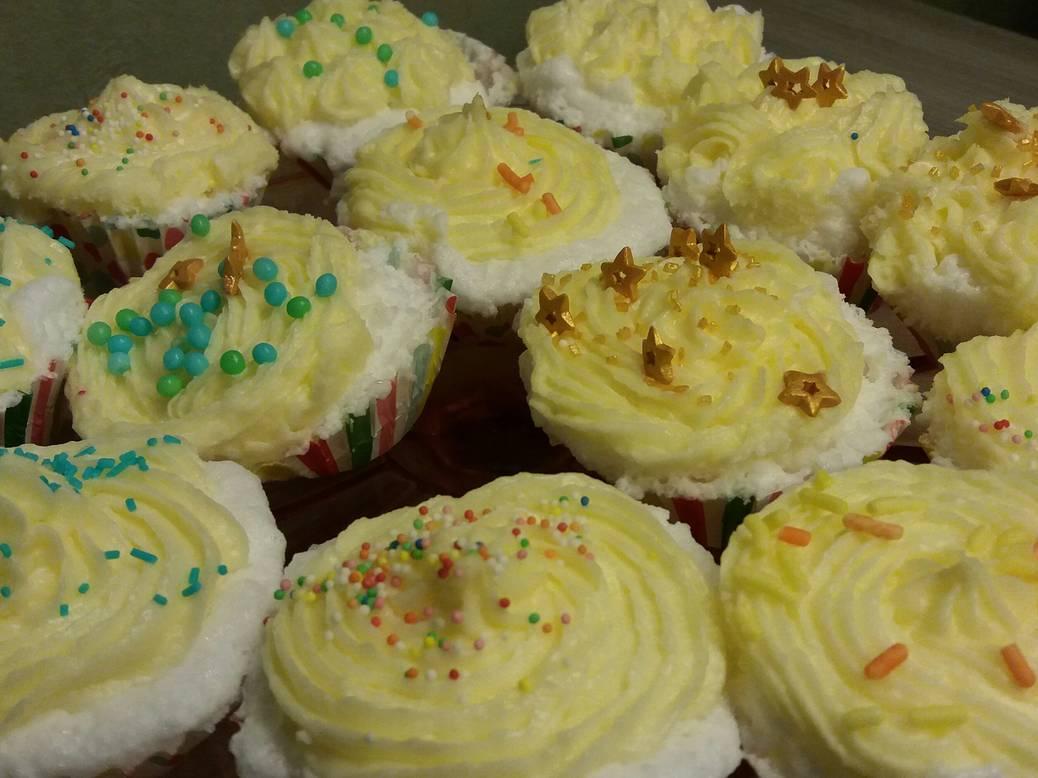 DIY cupcakes voor een bruisend bad