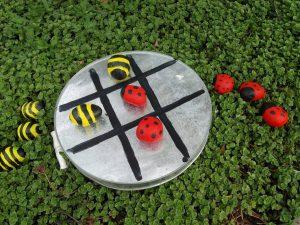 Speel het insectenspel