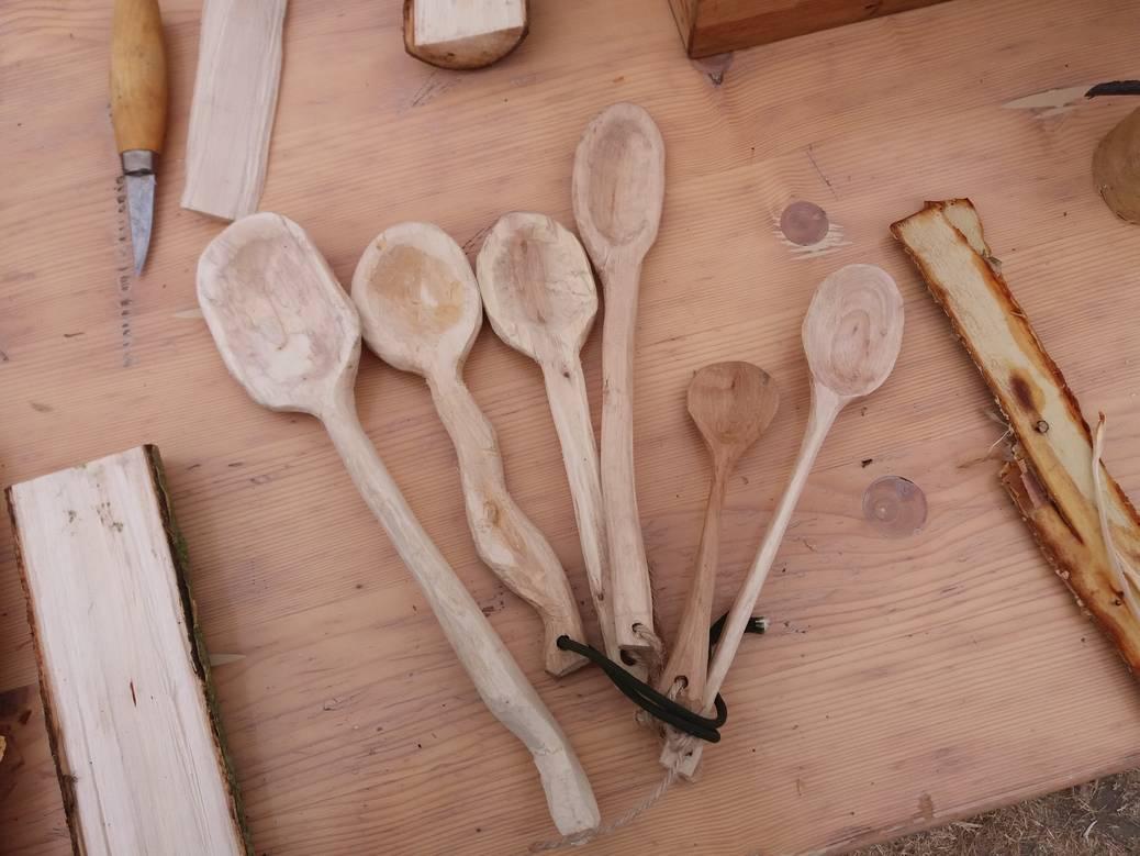 DIY: een lepel snijden uit hout.