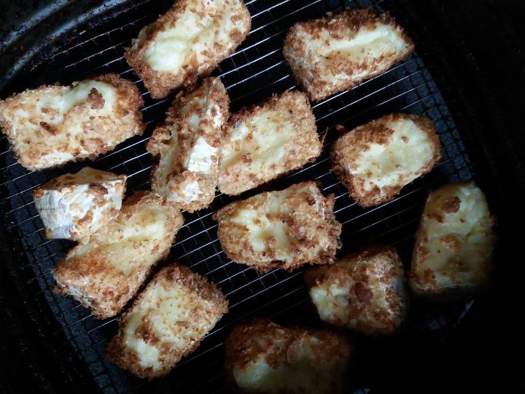 Camembert kroketjes in de airfryer